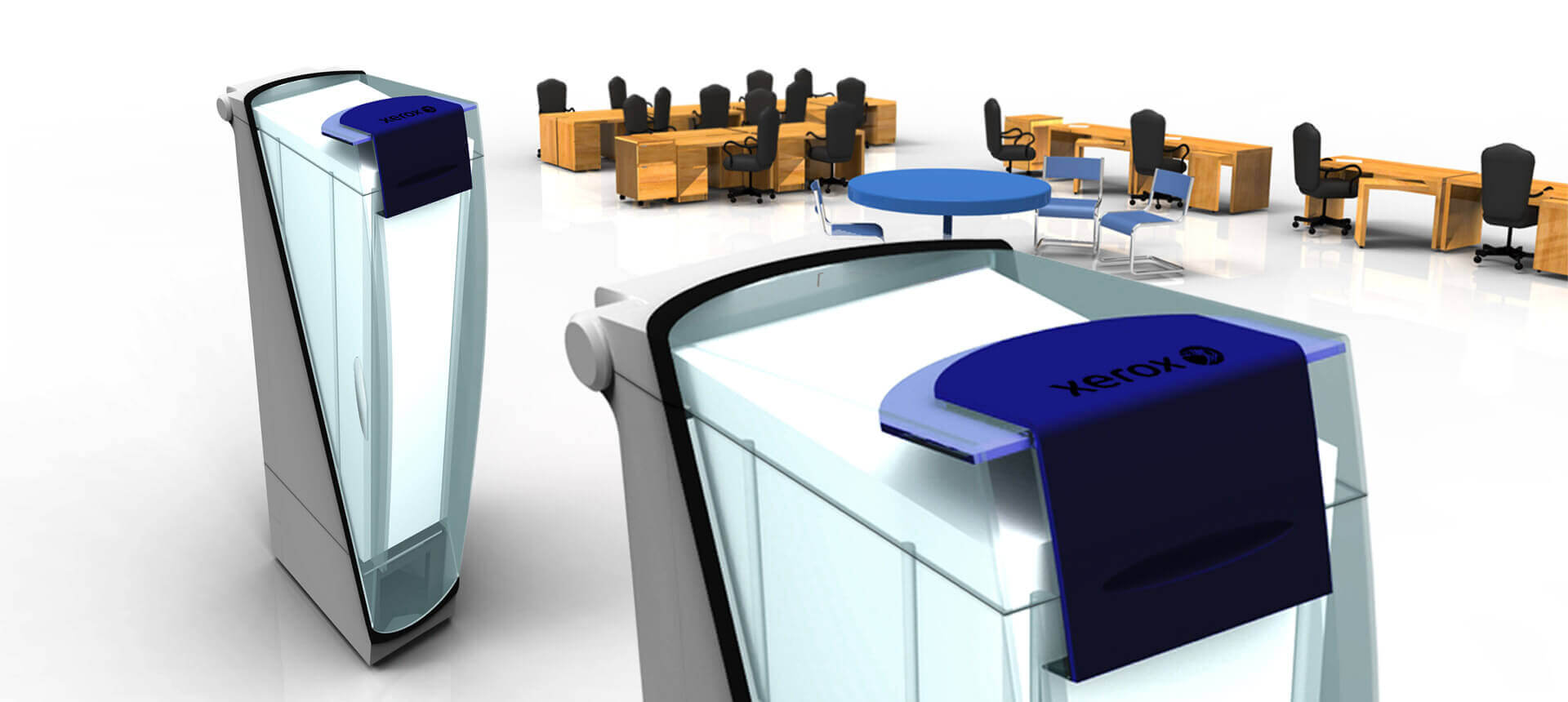 Xerox Feeder dispenser