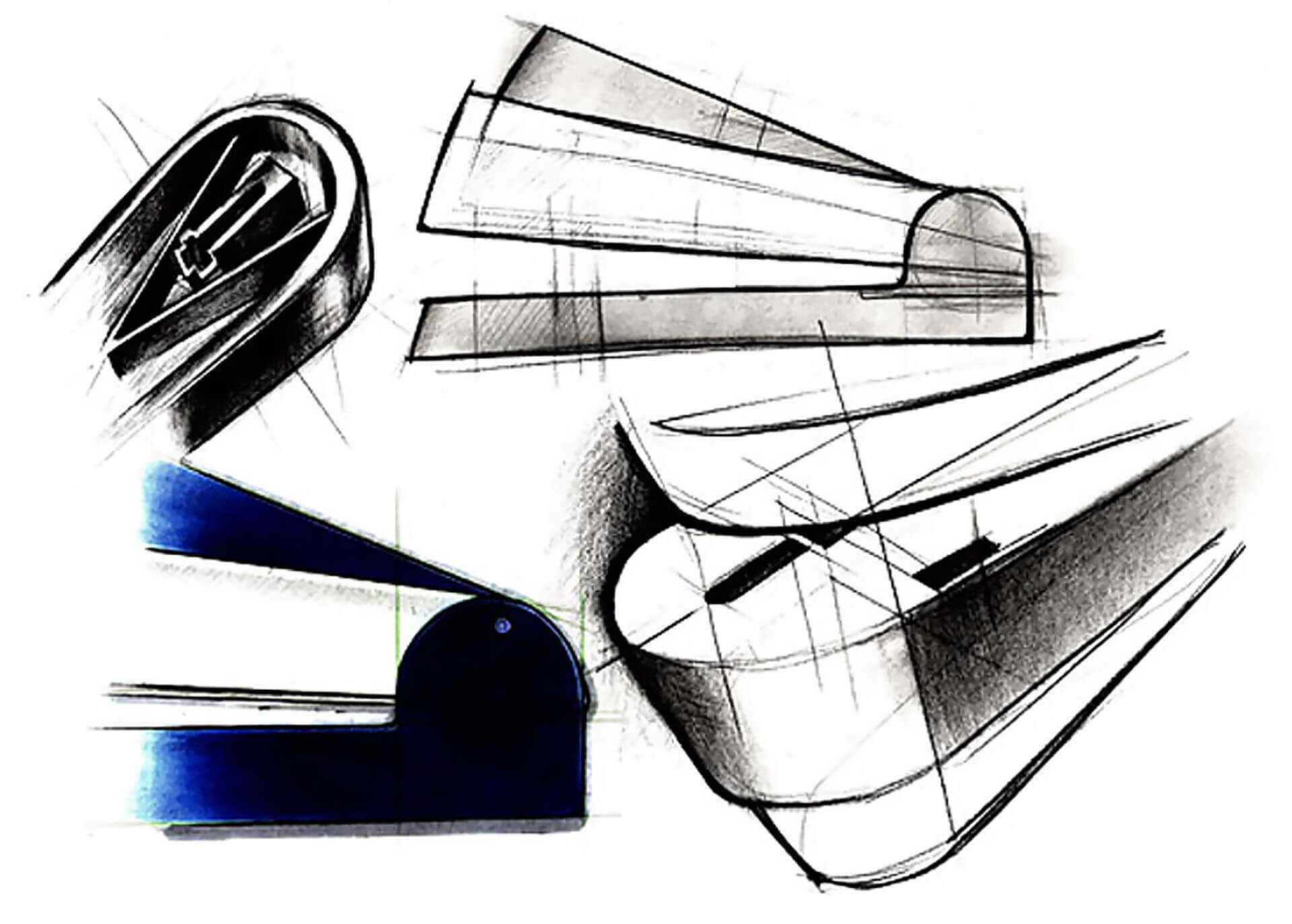 Magic Stapler sketches
