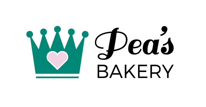 Pea's Bakery logo